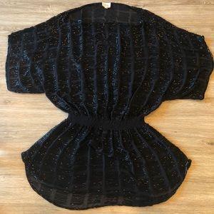 Parker Beaded Dolman Tunic Dress